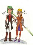Aira-ty and Abigail (Contest) by AbbyCatWolff