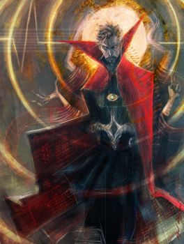Magus Supremus by Abz-J-Harding