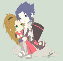 Request - Seika + Sasuke by trace-xing
