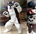 CoyoWolf Costume *Sold* by WolfOfTheWinterMoon