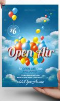 Open Air Flyer Template by LordFiren