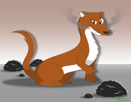 Cole the Weasel by gamepal