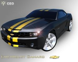 Chevrolet Camaro by XdesignsIllusion