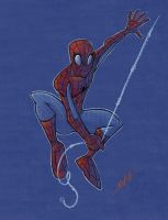 spidey by natelovett