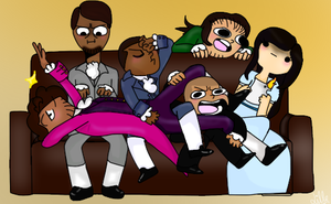 Draw The Squad- Hamilton edition by Lille-YT