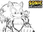 Sonic Unleashed/Monster Guy and Chip by Kaneda-Gonbei