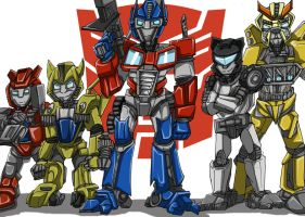 Transformers autobots pic by MikeOrion
