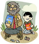 Guy and Ian by tontoh