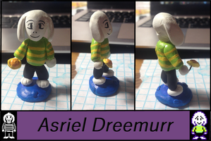Lion Sculpts: Undertale Asriel Dreemurr by Lion-Oh-Day