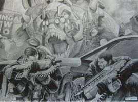 Gears of War - Finished by RichWalker