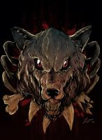 Blood Wolf by acidic055