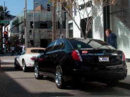 CNN Larry King and Lincoln MKS by Partywave