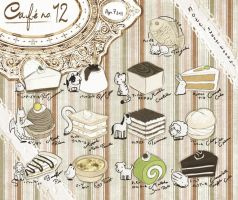 Cafe' no. 12 -ReBake- by nottisweettoothi