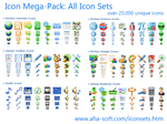 Icon Mega-Pack: All Icon Sets by fawkesbonfire