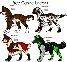 canine adoptables by DrappingMalice