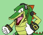 Vector the Crocodile by Agent-Jin