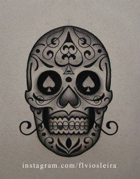 mexicanskull by FraH