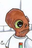 Admiral Ackbar PSC by johnnyism