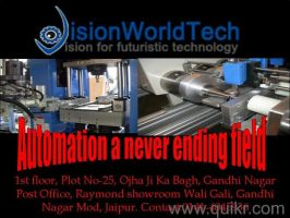 Automation training in Jaipur by VisionWorldTech