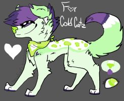 Custom for ColdCatz by Peculiar-NomNom
