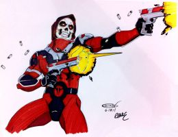 Skullface color by ScottCohn