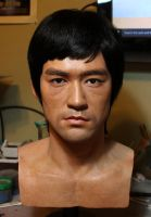 Bruce Lee lifesize bust by godaiking