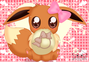 little Eevee by jirachicute28