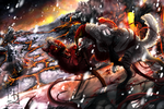 Commish: Battle at the Rivers of Fire by Aminirus