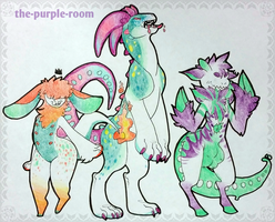 MONSTER POINT ADOPTS (0/3) CLOSED by The-Purple-Room