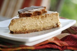 Gingerbread Cheesecake Slice 4 by laurenjacob