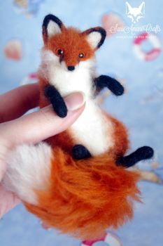 red fox 5'' ii by SaniAmaniCrafts