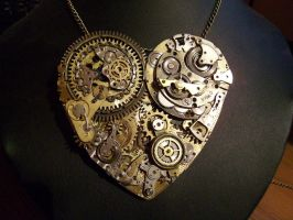 Steampunk Mechanic Heart by Zackary