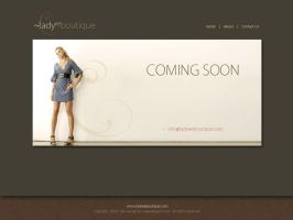 Online Boutique UC page by divertedworks