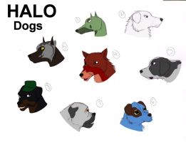 Halo Dogs: Round 2 by Dragon-of-DC