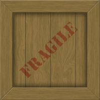 Wood Crate Label by ShadowRunner27
