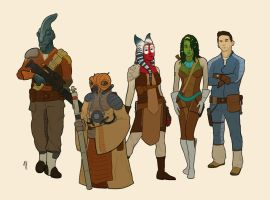 Pre-Moridia Characters by Ryan-Rhodes