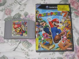 Mario Party 1 and 7 FTW by T95Master