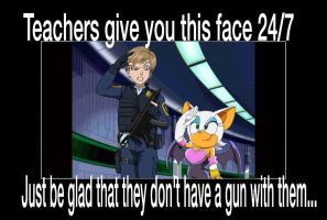 24/7 Faces From Teachers by animorphs5678