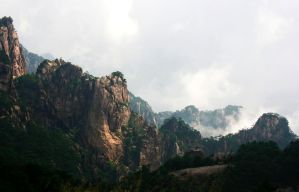 Huang Shan - The Yellow Mountain by Janina-Photography