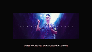 james rodriguez sign by iNTERN9NE