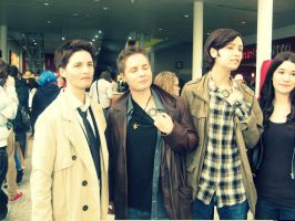 Supernatural Cosplayers (London Expo) by kathXD123