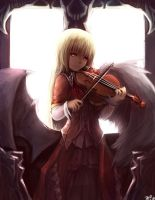 Violin Girl by kiyuga