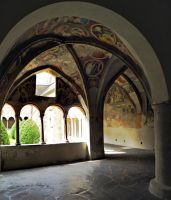 Cloister - Chiostro 3 by Sergiba