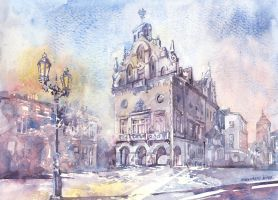 Main square in Rzeszow by your-confusion