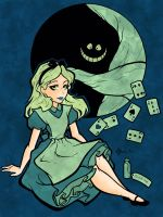 Glow in the Dark Alice by FunkBlast