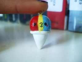 Snowcone charm by Number1FMAfangirl