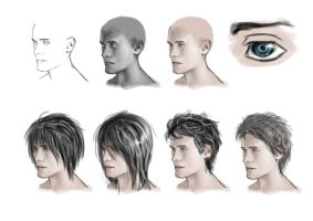 Neuron hair styles by nutJT