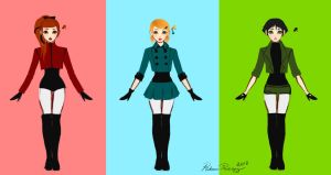PPG Redesign by BlackRozePetal