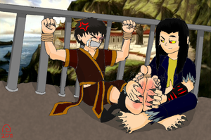 Zuko's Punishment by Shadow-Aspect
