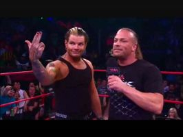 Jeff Hardy and RVD by UnderAbigailsRose